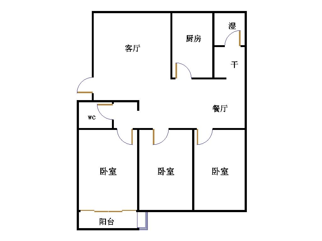 盛和景园 3室2厅 14楼