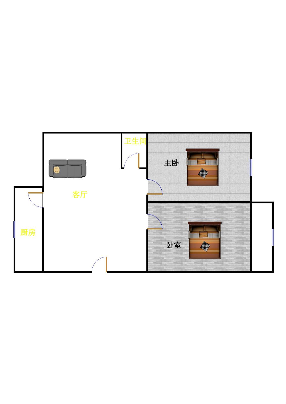 池家堤口 2室2厅 25楼