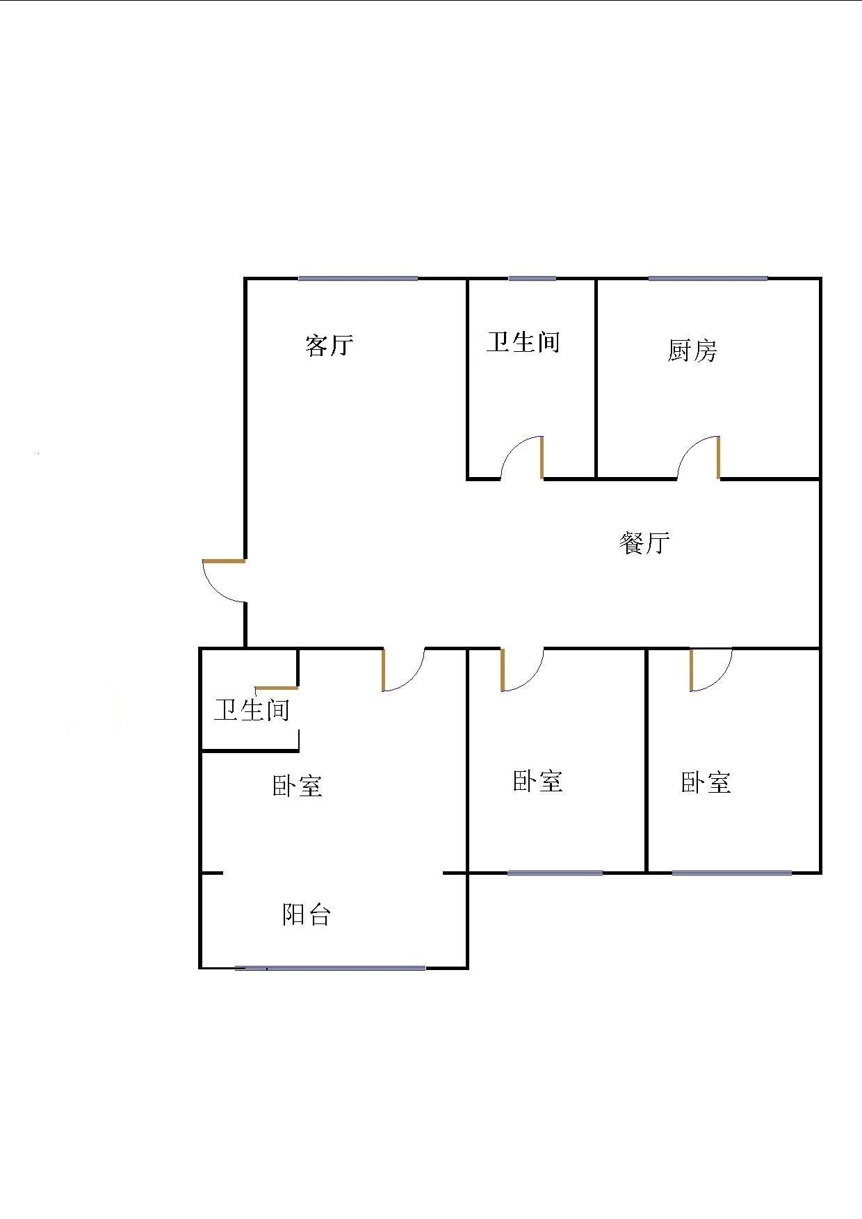 嘉城盛世 3室2厅  精装 165万