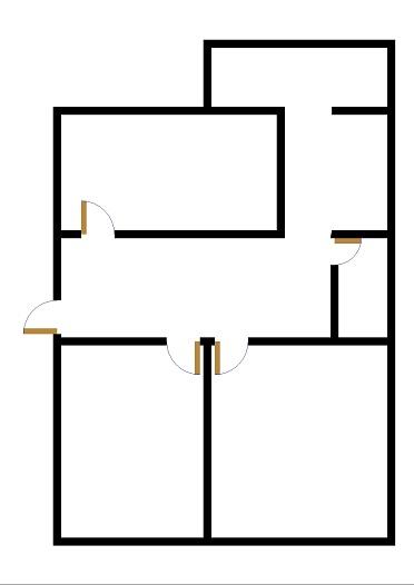 供销社宿舍 3室1厅 1楼