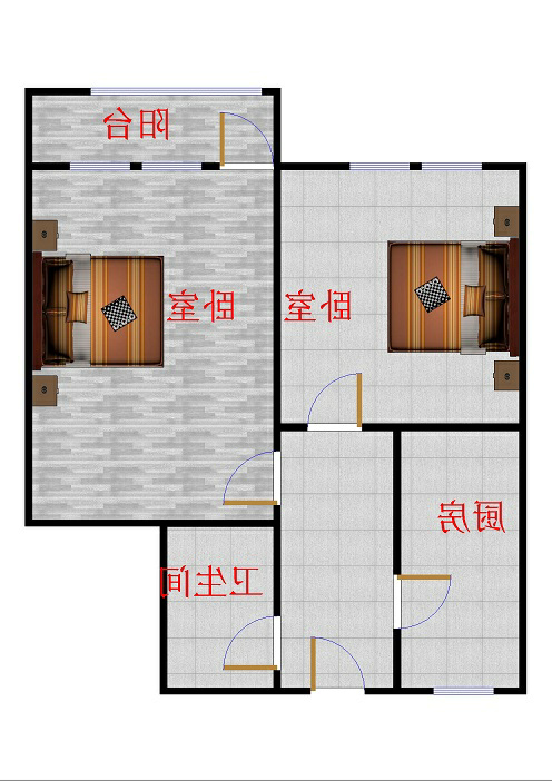 二棉宿舍 1室1厅 双证齐全过五年 简装 60万