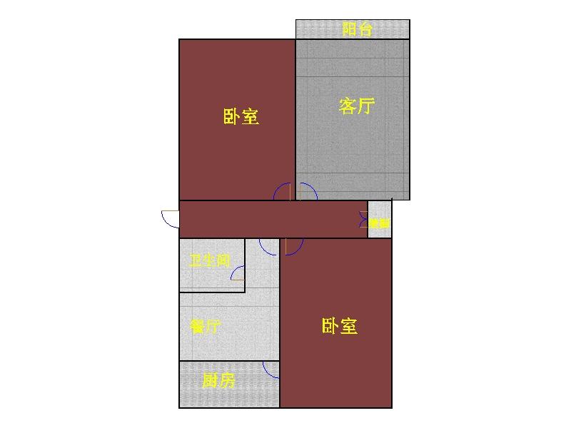 新华印刷厂宿舍 3室0厅 过五年 精装 41万