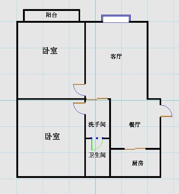 龙源世纪广场 2室2厅  精装 113万