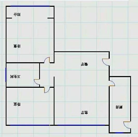 星河湾 2室2厅 2楼