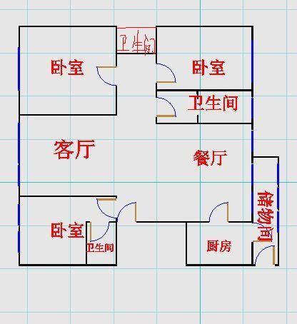 康博公馆 3室2厅  精装 319万