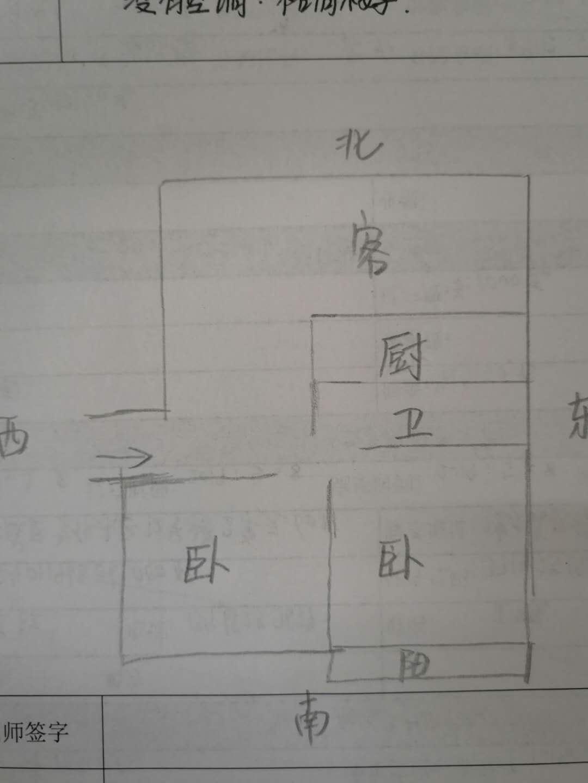 外海.江南水郡 2室1厅 4楼