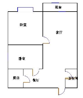 天钰铭城 2室2厅  精装 89万