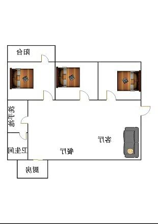 聚源小区 3室2厅  精装 128万