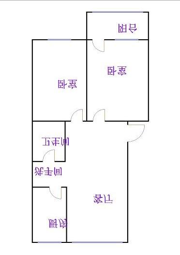 天华小区 2室2厅  简装 73万