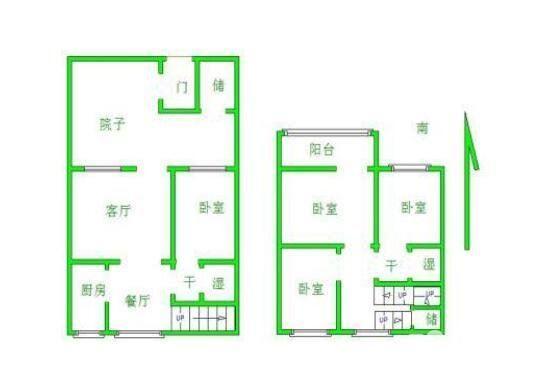 建委宿舍(昌胜街22号) 4室2厅  简装 220万
