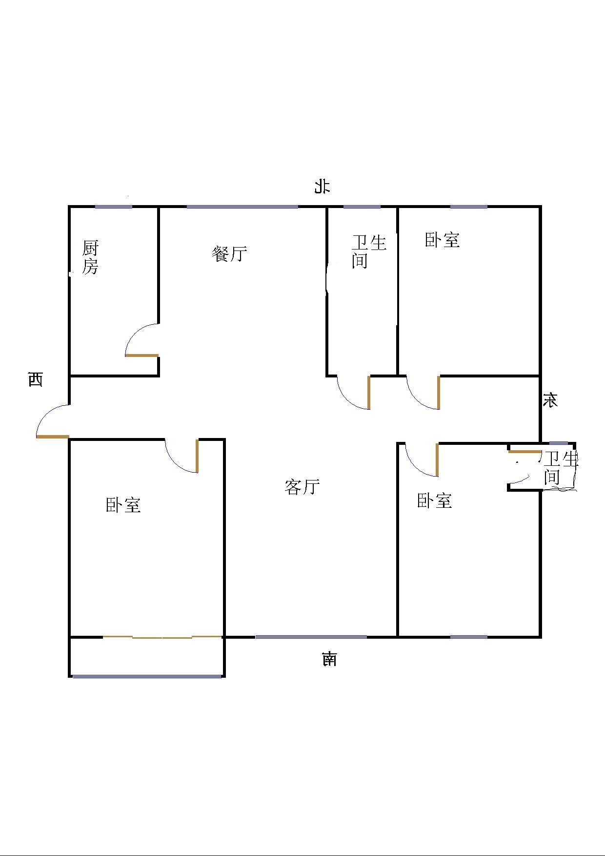 外海.江南水郡 3室2厅  精装 140万