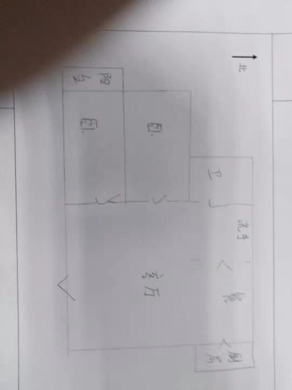 岔河小区 2室2厅 3楼