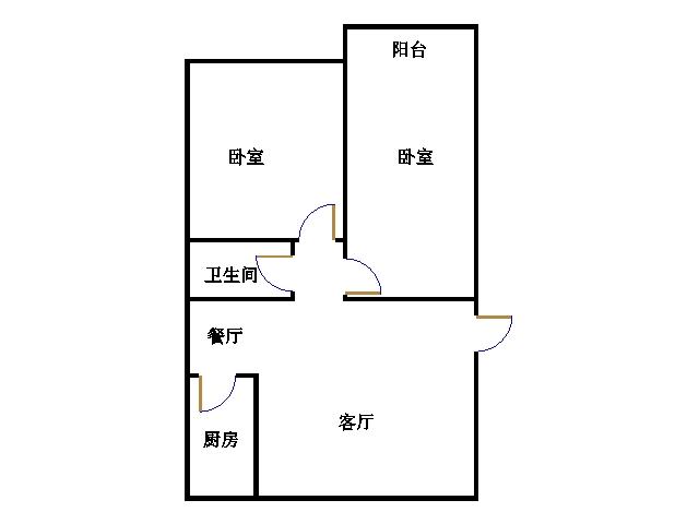 星河湾 3室1厅 6楼