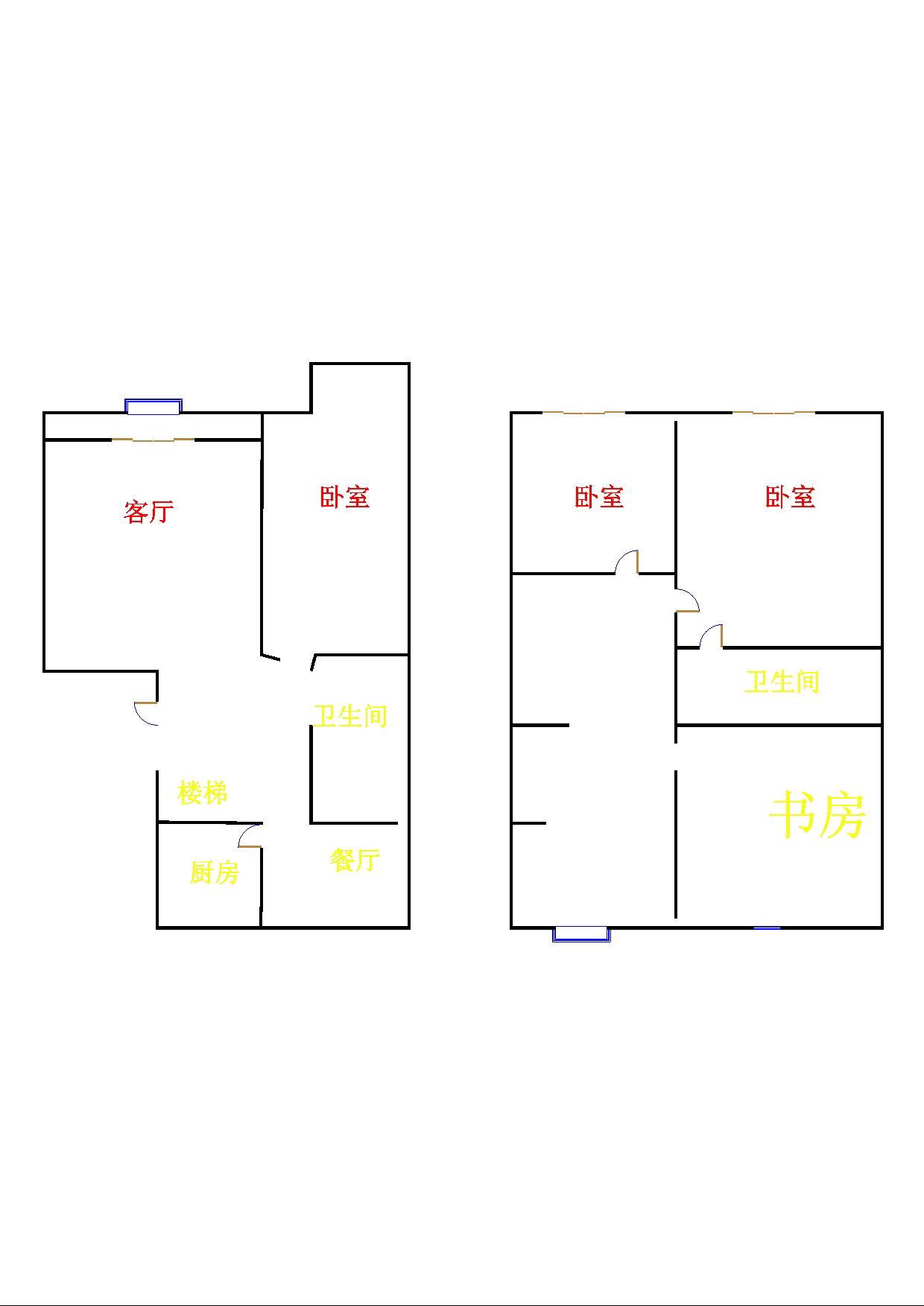 高地世纪城 4室2厅 5楼