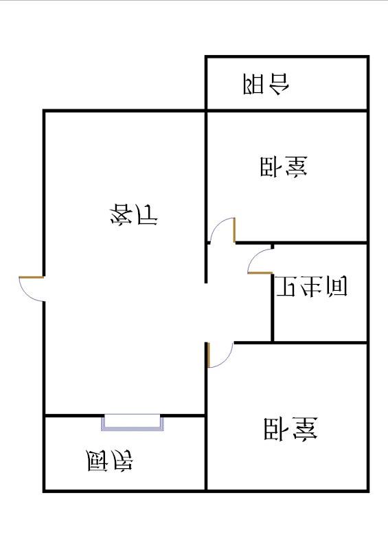 外海.江南水郡 1室1厅 6楼