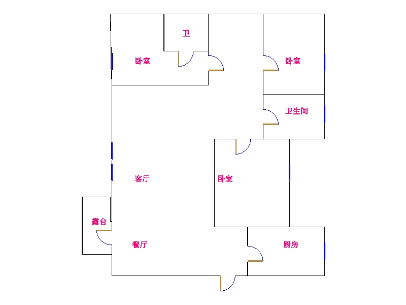 中建华府(欧香丽都) 3室2厅  精装 210万