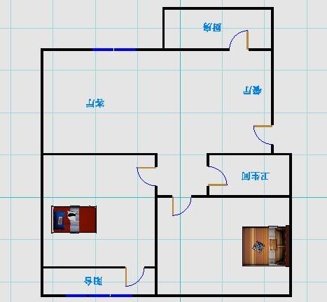 天华锦绣园 2室1厅 1楼