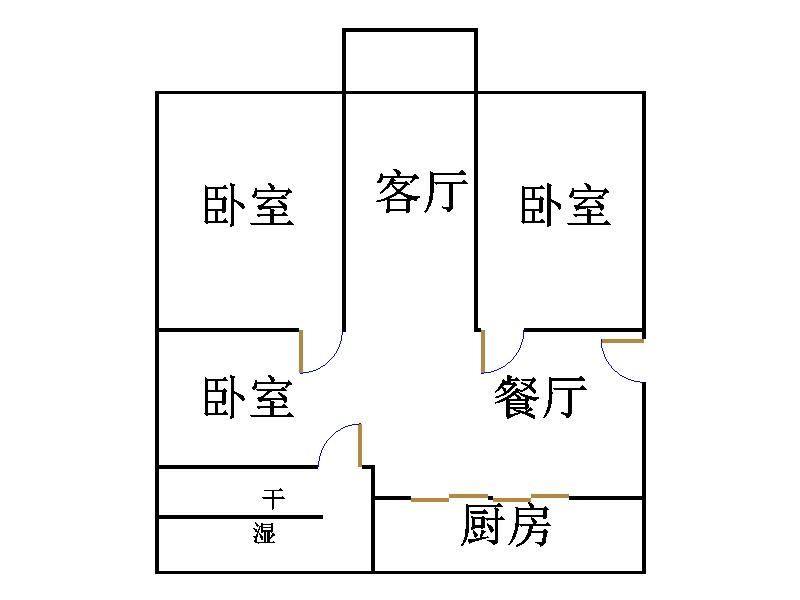 佰利金湖城 3室1厅 29楼