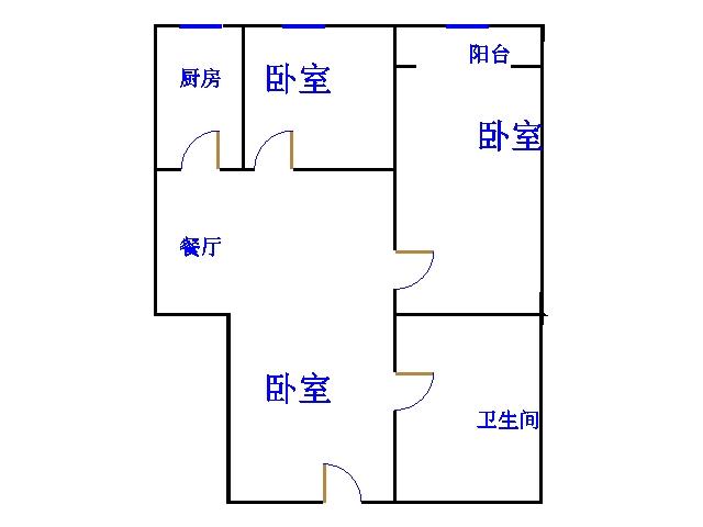 紫御国都 3室2厅 25楼