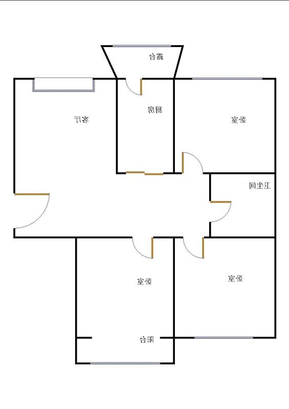 龙溪香岸 3室2厅  精装 102万