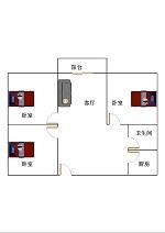 德兴城上城 3室2厅 5楼