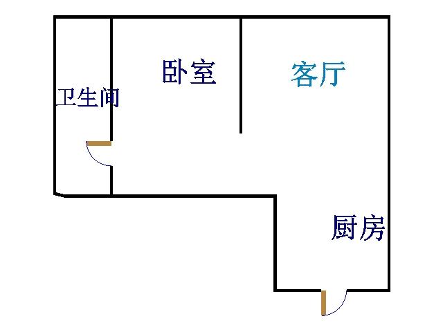 中泰尚居 1室1厅 8楼